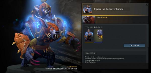 Dipper the Destroyer Bundle (Ursa TI 10)