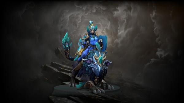 Spirit of the Emeraldine Rider (Luna Set)