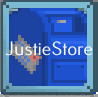 Blue mailbox ( 2 pcs )