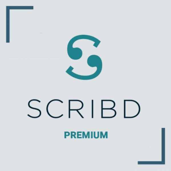 Scribd 1 Bulan Premium