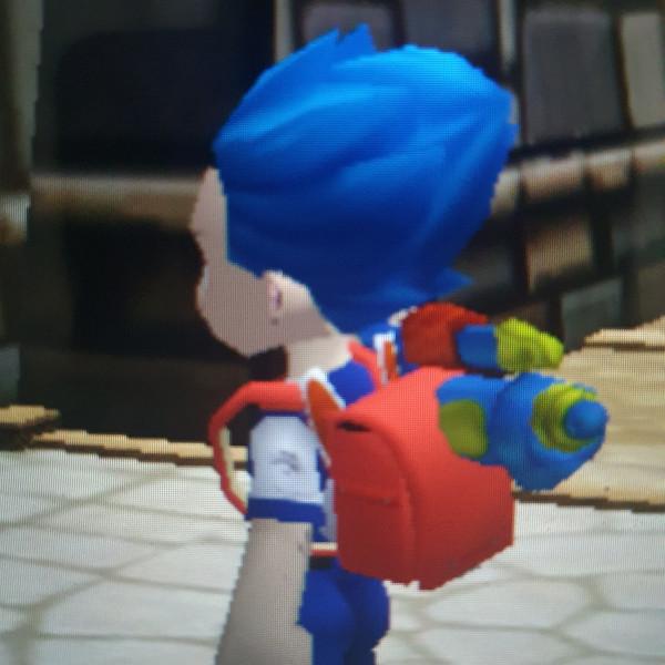 Red Retro Bag