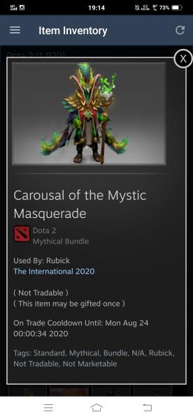 Carousal of the mystic maquarade