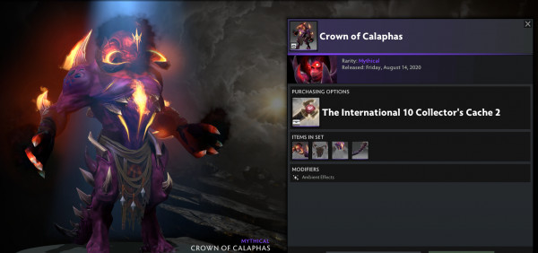 Crown of Calaphas (Shadow Demon CC TI 10)