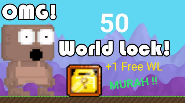 50 WORLD LOCK (FREE 1 WL)