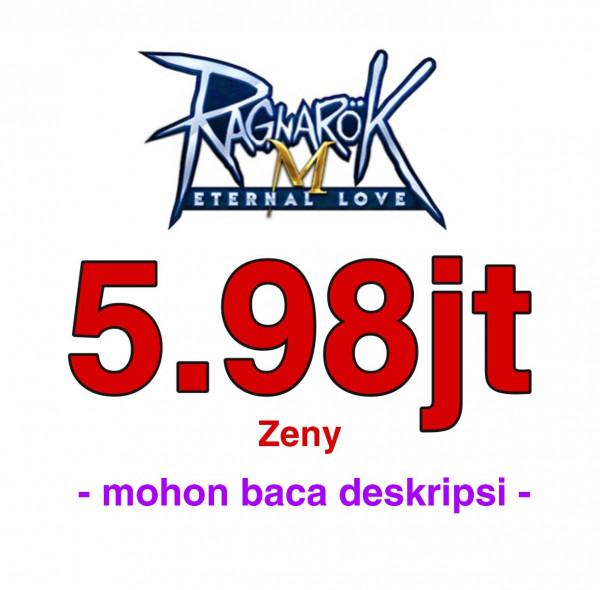 5.980.000 Zeny