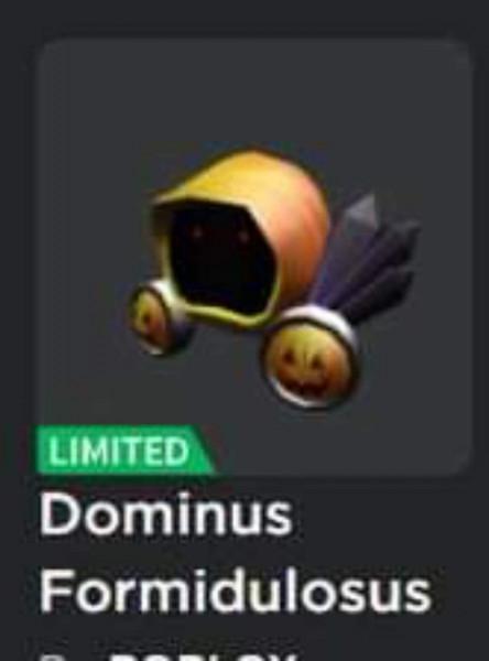 Dominus Formidulosus Limited Item