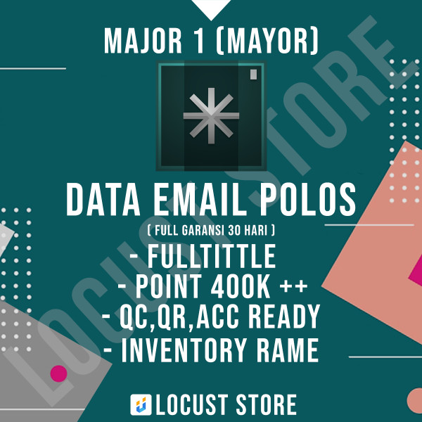Major / Mayor Grade 1 FC FT DATA POLOS