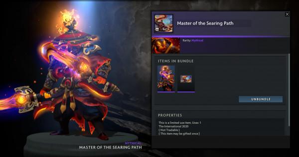 Master of The Searing Path (Ember Spirit CC TI10)
