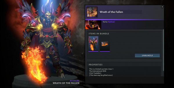 Wrath of The Fallen (Doom TI 10 Collector Cache 2)