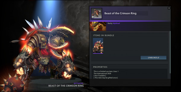 Beast of The Crimson Ring (Bristleback CC TI10)