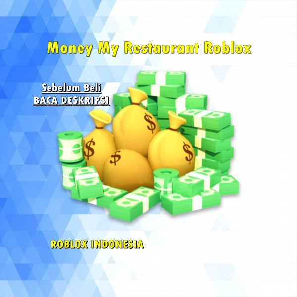 100M Money My Restaurant Roblox