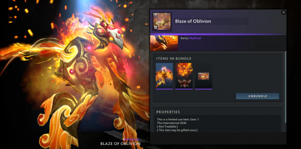 Blaze of Oblivion set Phonix CC TI 10