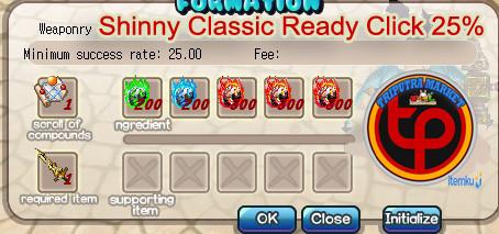 Shiny einhorn weapon ready click (25%)