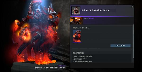 Talons of The Endless Storm (Chaos Knight CC TI 10