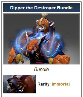 Dipper the Destroyer Bundle (Immortal TI 10 Ursa)