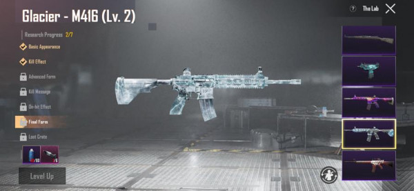 M416 GLACIER LEVEL 2
