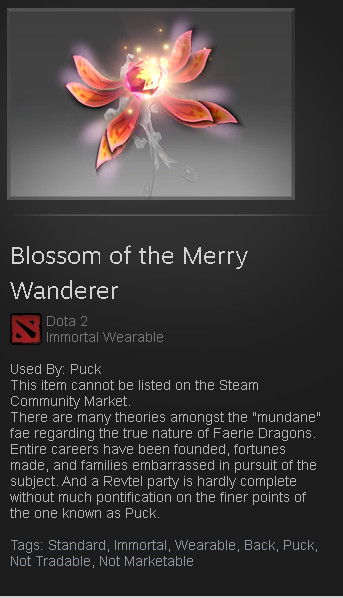 Blossom of the Merry Wanderer