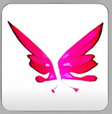 Pink Butterfly Wings [Pet Wear] - Adopt Me!