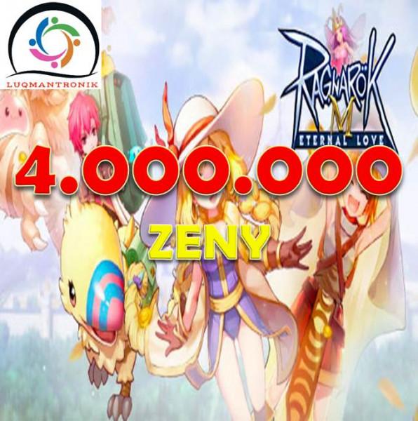 4.000.000 Zeny
