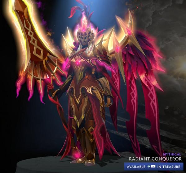 Radiant Conqueror (LC Ultra Rare CC 2020)