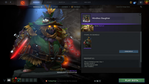 Mindless Slaughter (Pudge)