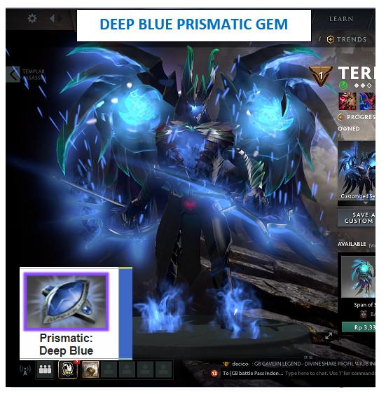 Fractal Horns of Inner Abysm (Terrorblade) BLUE