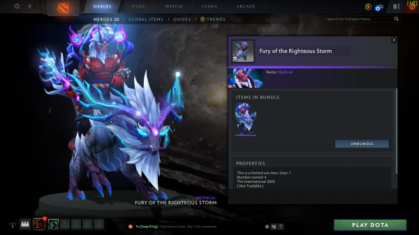 Fury of the Righteous Strom ( Disruptor )