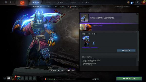 Lineage of the Stormlords (Juggernaut)