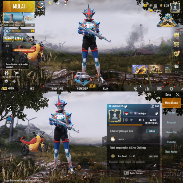PUBGM Global Rp 12 Max Set Outfit 24