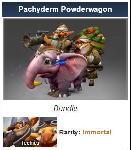 Pachyderm Powderwagon (Immortal Techies Set)