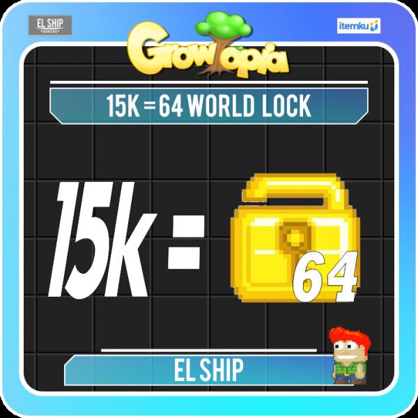 PAKET HEMAT WL 15K (64 WORLD LOCK)