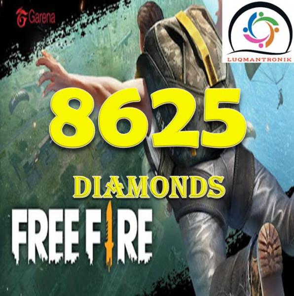 6900 + 1725 Diamonds
