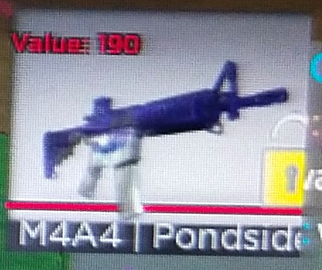 Jual M4A4 Pondside | Counter Blox