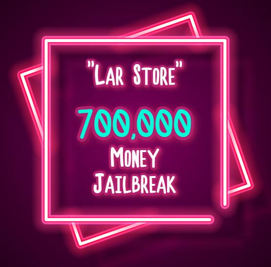 700.000 Money Jailbreak (Via Gift)