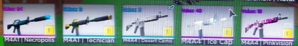Paketan Senjata M4A4 Counter Blox