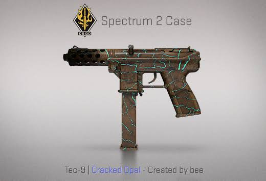StatTrak™ Tec-9 | Cracked Opal