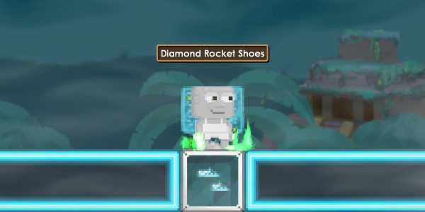Diamond Rocket Shoes