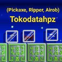 Paket Set Pemula (Pickaxe, Ripper, Airob)