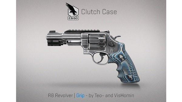 StatTrak™ R8 Revolver | Grip