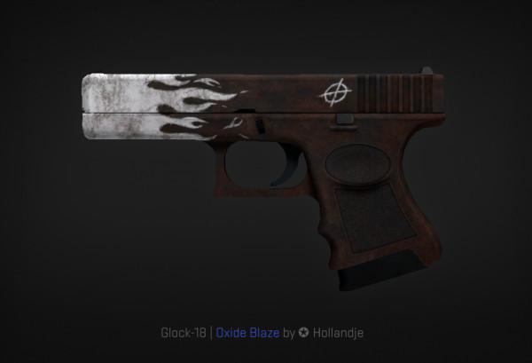 StatTrak™ Glock-18 | Oxide Blaze