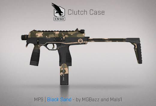 StatTrak™ MP9 | Black Sand