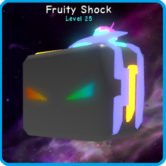 Shiny Fruity Shock (Bubble Gum Simulator)