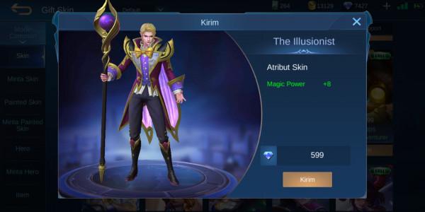 The illusionist (elite skin cecilion)