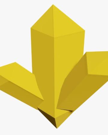 Crystallized Gold | Island