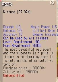 (Tailed Wisp) Kitsune+0