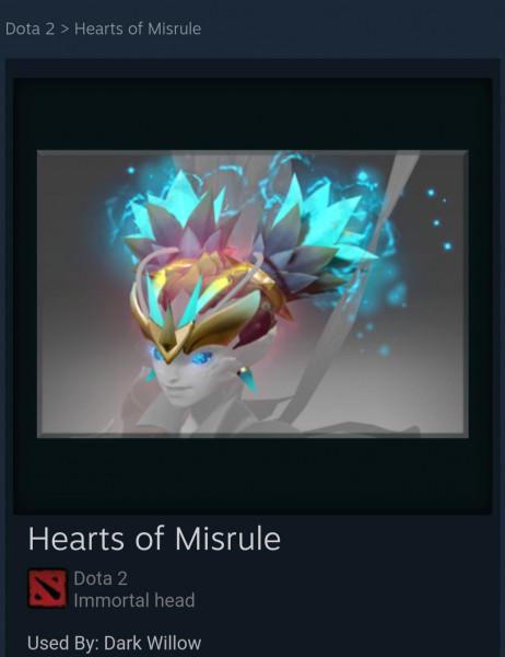 Hearts of Misrule (Immortal TI8 Dark Willow)