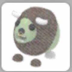 Zombie Buffalo Plush (OLD PLUSH/TOY) - Adopt Me