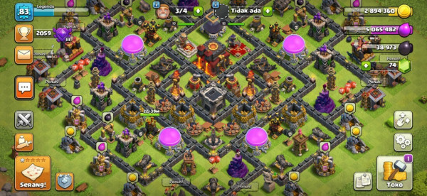 Clash of Clans SC ID-TH 10 Level 83 - Good Village