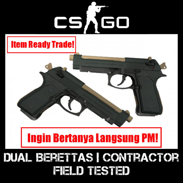 Dual Berettas | Contractor (field tested)