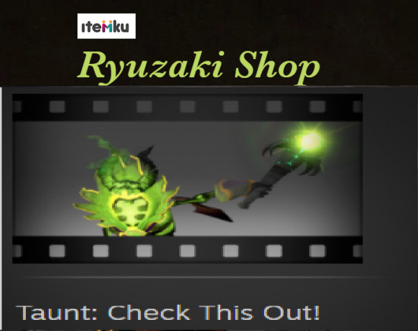 Taunt: Check This Out! (Pugna Taunt)